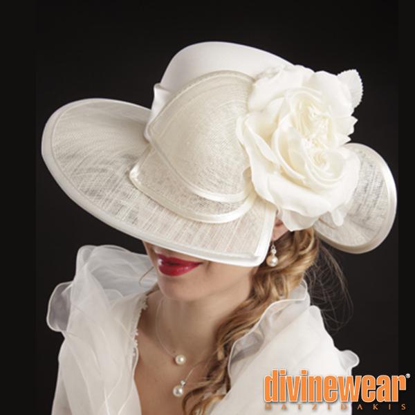 γαλλικό νυφικό καπέλο