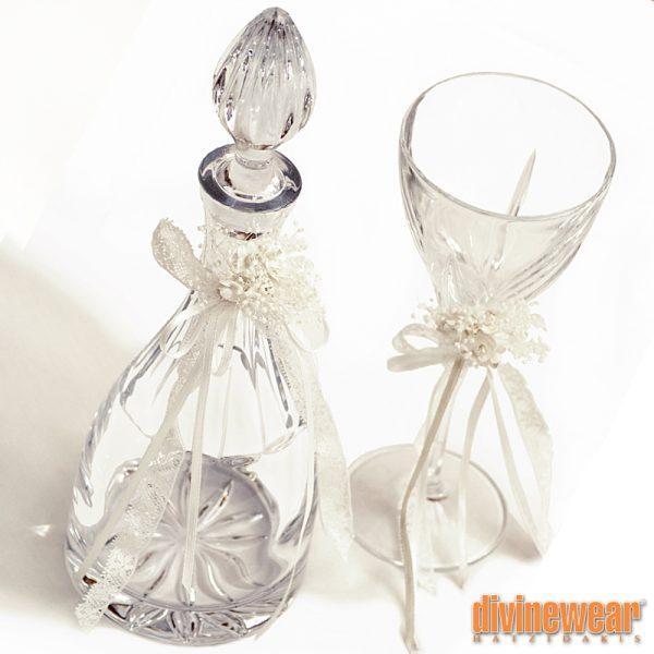 καράφα ποτήρι κρυστάλλινα