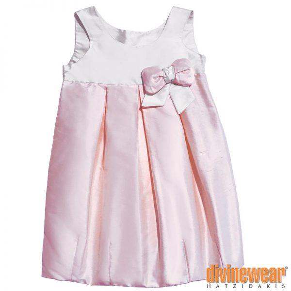 δίχρωμο φόρεμα