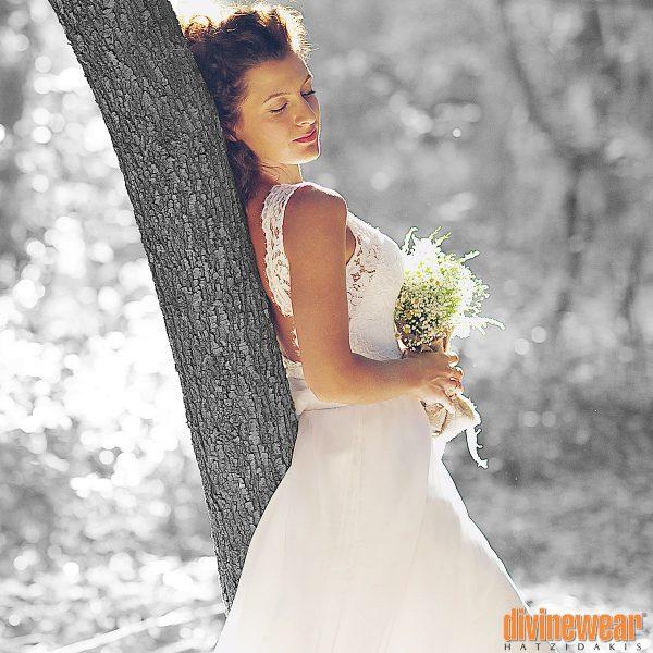 Νυφικό πραγματική νύφη Divinewear
